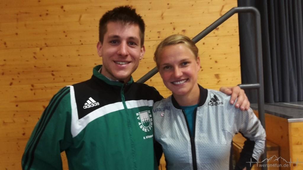 Lisa Hahner hat die Olympianorm bestätigt